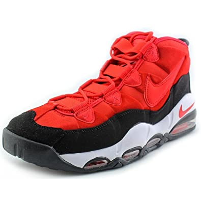 Nike 311090-600: Air Max Uptempo Basketball Shoes Red/Black Retro Men Size