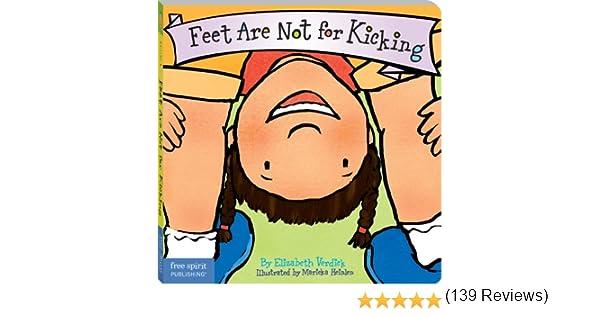 Feet are not for kicking board book best behavior series feet are not for kicking board book best behavior series kindle edition by elizabeth verdick marieka heinlen children kindle ebooks amazon fandeluxe Images