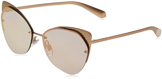 Bvlgari Mujer 0Bv6096 20134Z 58 Gafas de sol, Dorado (Grey ...