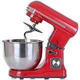 Wonderchef 63152279 1000-Watt Stand Mixer (Red)