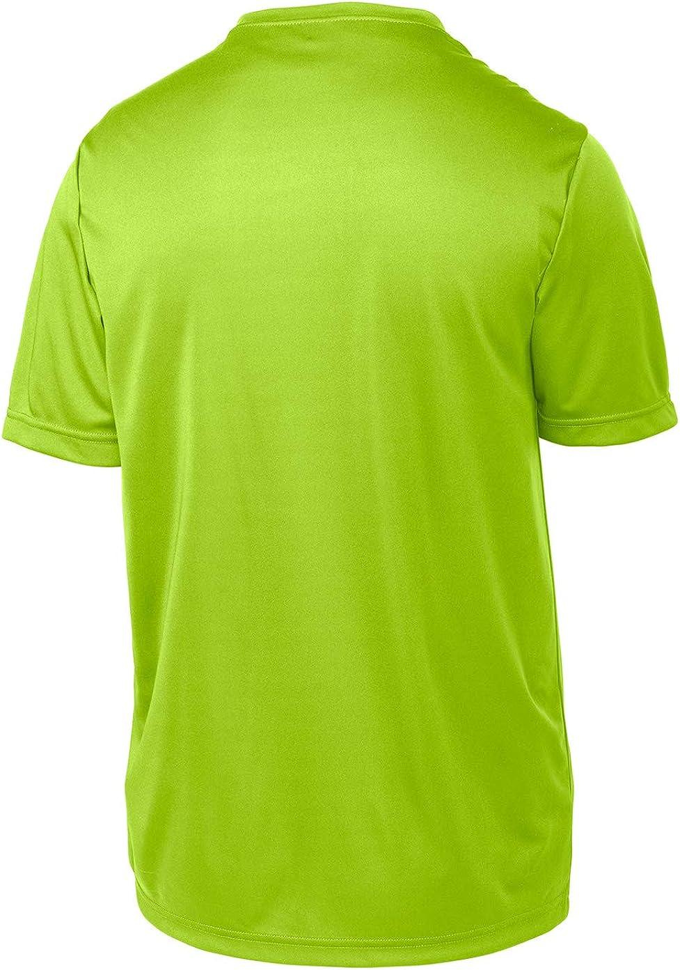Youth /& Teen Sizes Opna Youth Boys Dri Fit Athletic T Shirts for Boys /& Girls Sports Undershirt