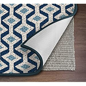 NINJA BRAND Area Rug Pad Gripper for Hard Surface Floors, #1 Grip, Maximum Protection Pads, Rectangular, Cushioned (8' x 10')