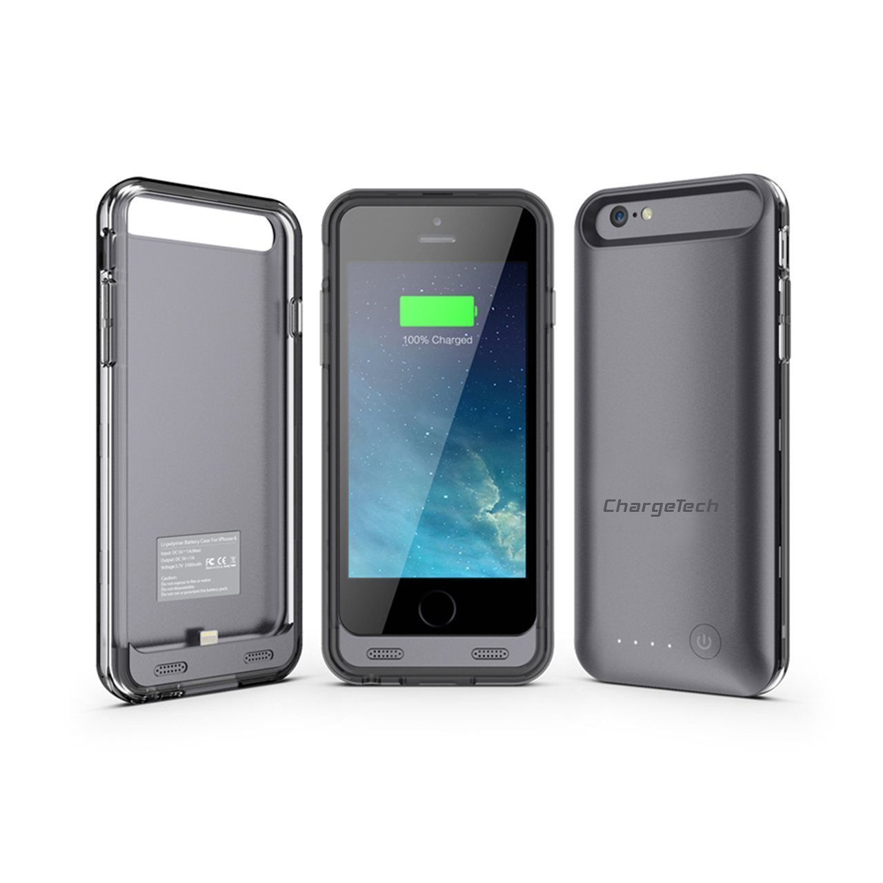 separation shoes b32f7 61ff6 ChargeTech: Thinnest iPhone 6 Battery Case [MFi Certified ...