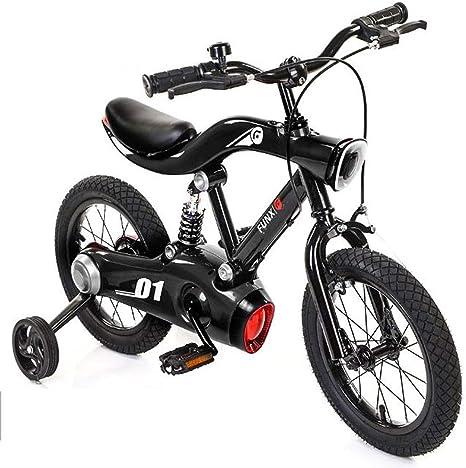 KY Bicicleta niños Balance Bike Niños de la Bici del Metal LED de ...