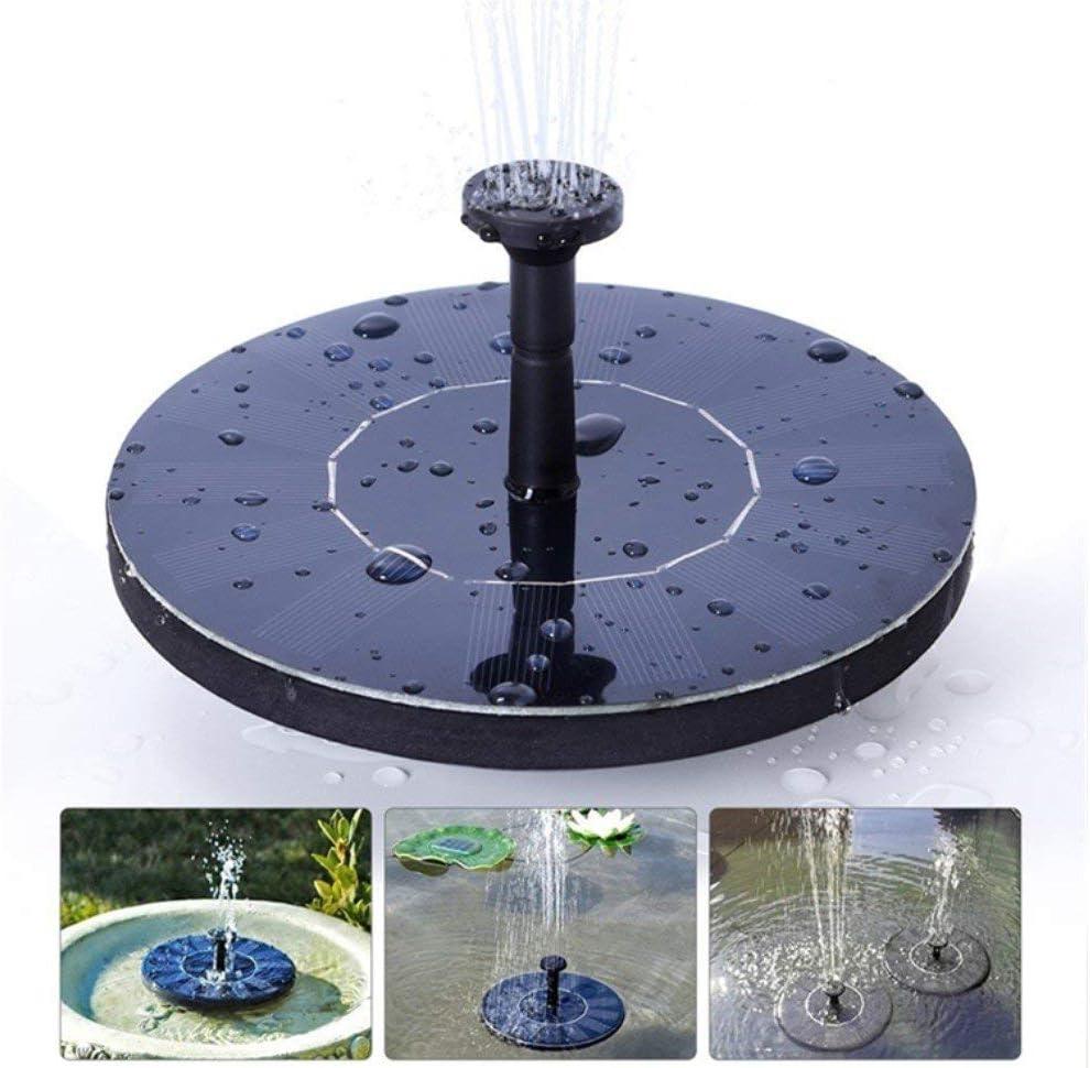 Solar Fountain for Bird Bath, Solar Powered Fountain Pump 1.5W Free Standing Floating Birdbath Water Pumps for Garden, Patio, Pond and Pool: Home Improvement