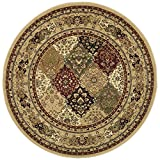Cheap Safavieh Lyndhurst Collection LNH221C Traditional Multi and Black Round Area Rug (5'3″ Diameter)