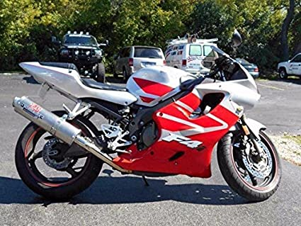 Amazoncom Silver Wred Complete Injection Fairing For 2001 2002
