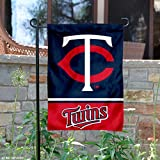 Minnesota Twins Double Sided Garden Flag