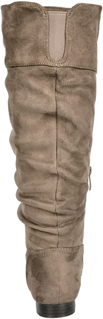 Wide Calf Available DREAM PAIRS Womens BLVD Knee High Pull On Fall Weather Boots