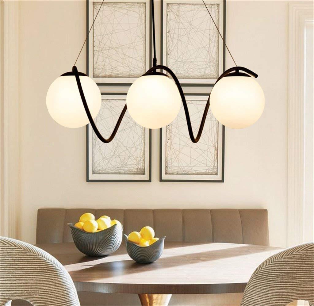 Ama Ellie Chandelier - Creative Fashion Solid Wood Cafe Restaurante Bar Lounge Araña, iluminación Interior.: Amazon.es: Deportes y aire libre