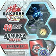 Bakugan Pro, Armored Elite Starter Set with Transforming Creatures, Aquos Howlkor, for Ages 6 &