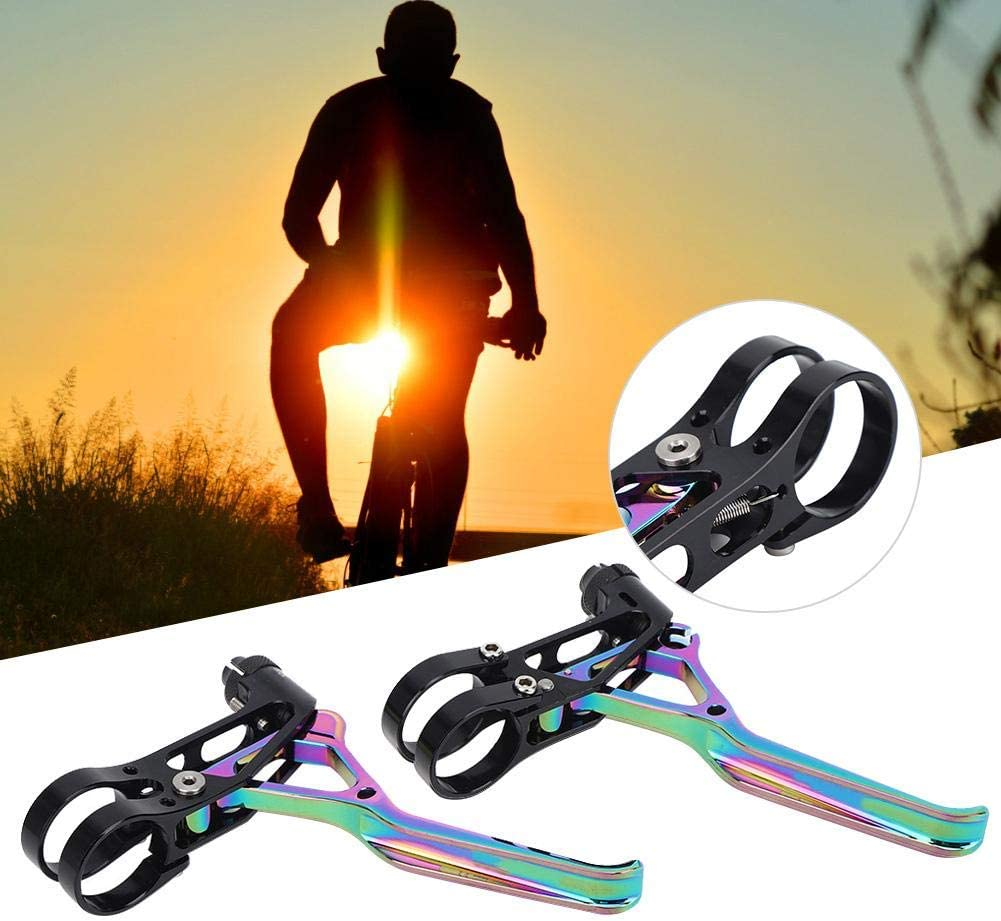 1 Pair of Bicycle Brake Levers Bike V Brake Levers Cycling Accessory for Mountain Bicycle Folding Bikes Bicycle