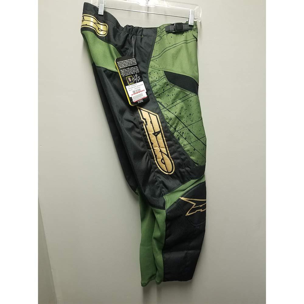 AXO MX Store Pant (Black/Green) (38)