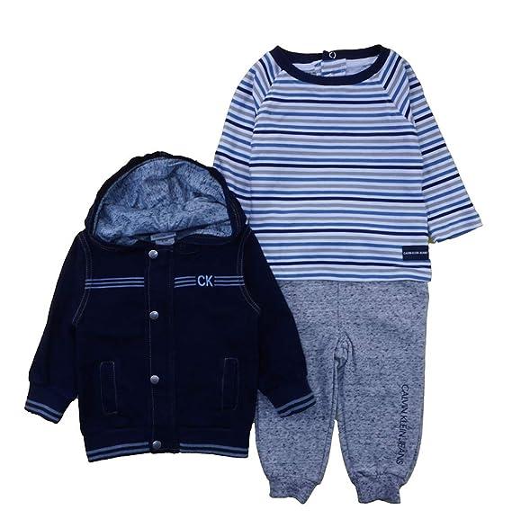 Amazon.com: Calvin Klein - Chaqueta con capucha para niño (3 ...
