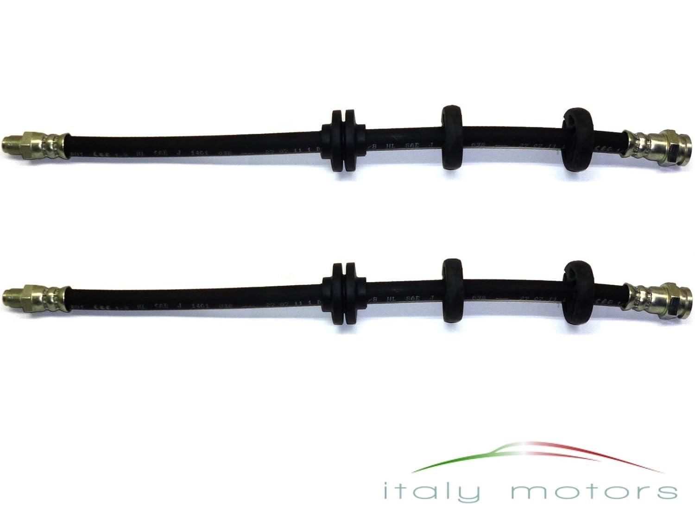 ALFA ROMEO 147/GT (937) Flexible de frein Câ ble de frein avant –  Lot de 2– 46474539 Nachbau