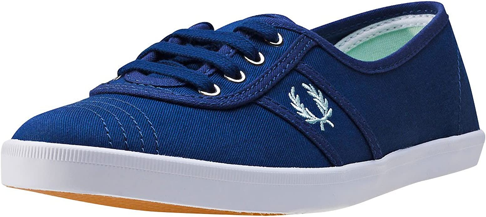 Fred Perry Aubrey Womens Trainers Navy