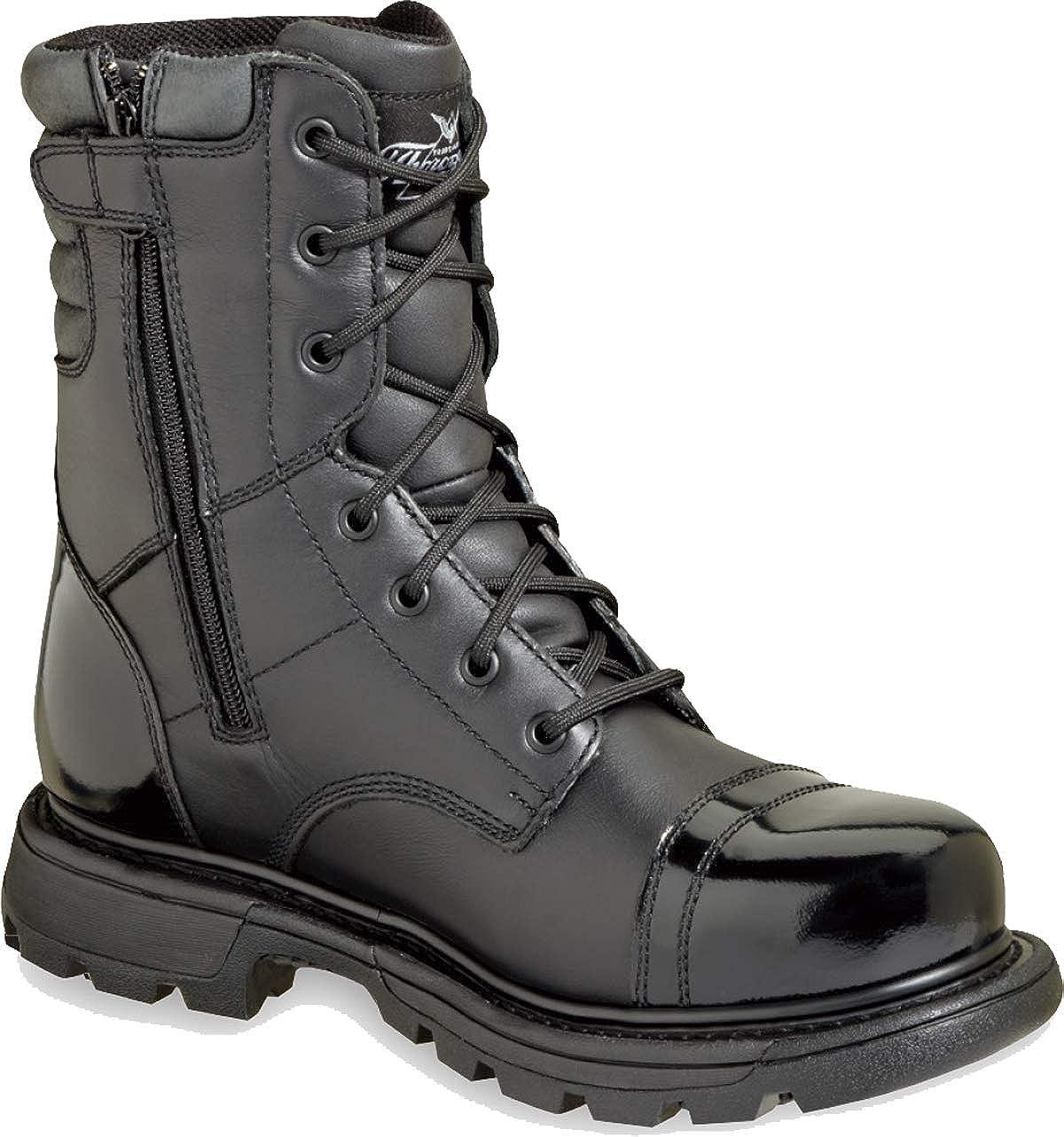"""b28a163d327 Thorogood Men's 8"""" Side Zip Jump Boot Gen-flex"""