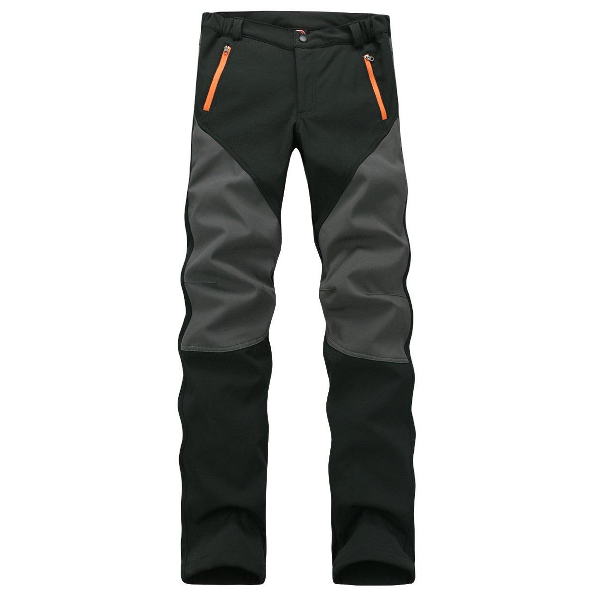 Ynport Windproof Softshell Tracksuits Winter Trekking Fleece Ski Hiking Pants 180823-01