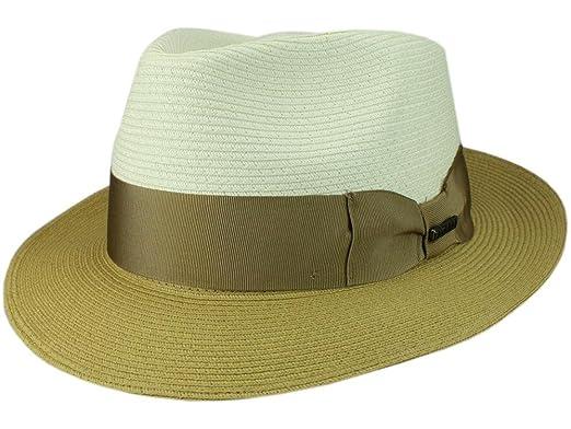 Bigalli Men s Fedora Hat Quickstep - cream  Amazon.co.uk  Clothing ccdfead40763