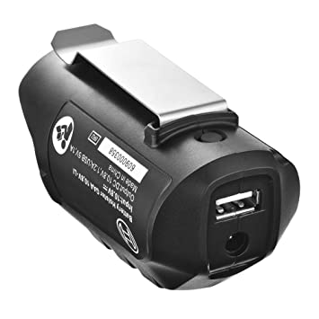 Tutmonda Adaptador USB de la Funda del Cargador para batería ...