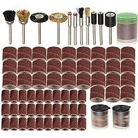 belupai 150 stuks 1/8 inch schacht draaigereedschap accessoires set voor Dremel slijpen polijstgereedschap
