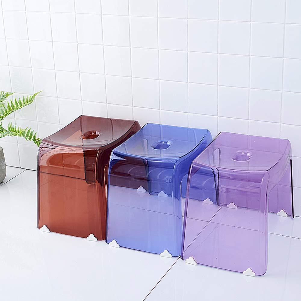 Sgabelli In Plastica Trasparente.Arredamento Poggiapiedi In Plastica Trasparente Antiscivolo Non