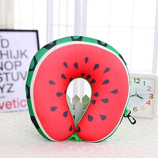 Frutas Almohada cervical, hinchable en forma de U Creativa ...