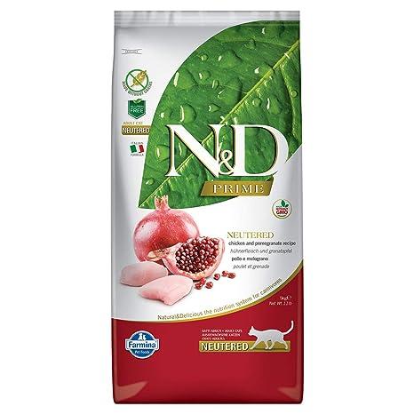 FARMINA ndgr. ainfree Neutered Pollo y melogr. Ano 5 kg. – Gato