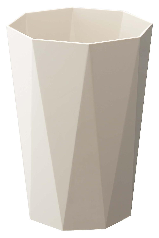 山崎実業その他 山崎実業 ゴミ箱 トラッシュカンダイヤ ベージュ 6475の画像