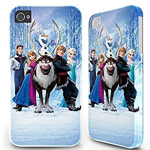 BESTER 5.5 inch Iphone 6 Plus 6plus Hard Case Cover - Disney Frozen Elsa Anna Olaf 20