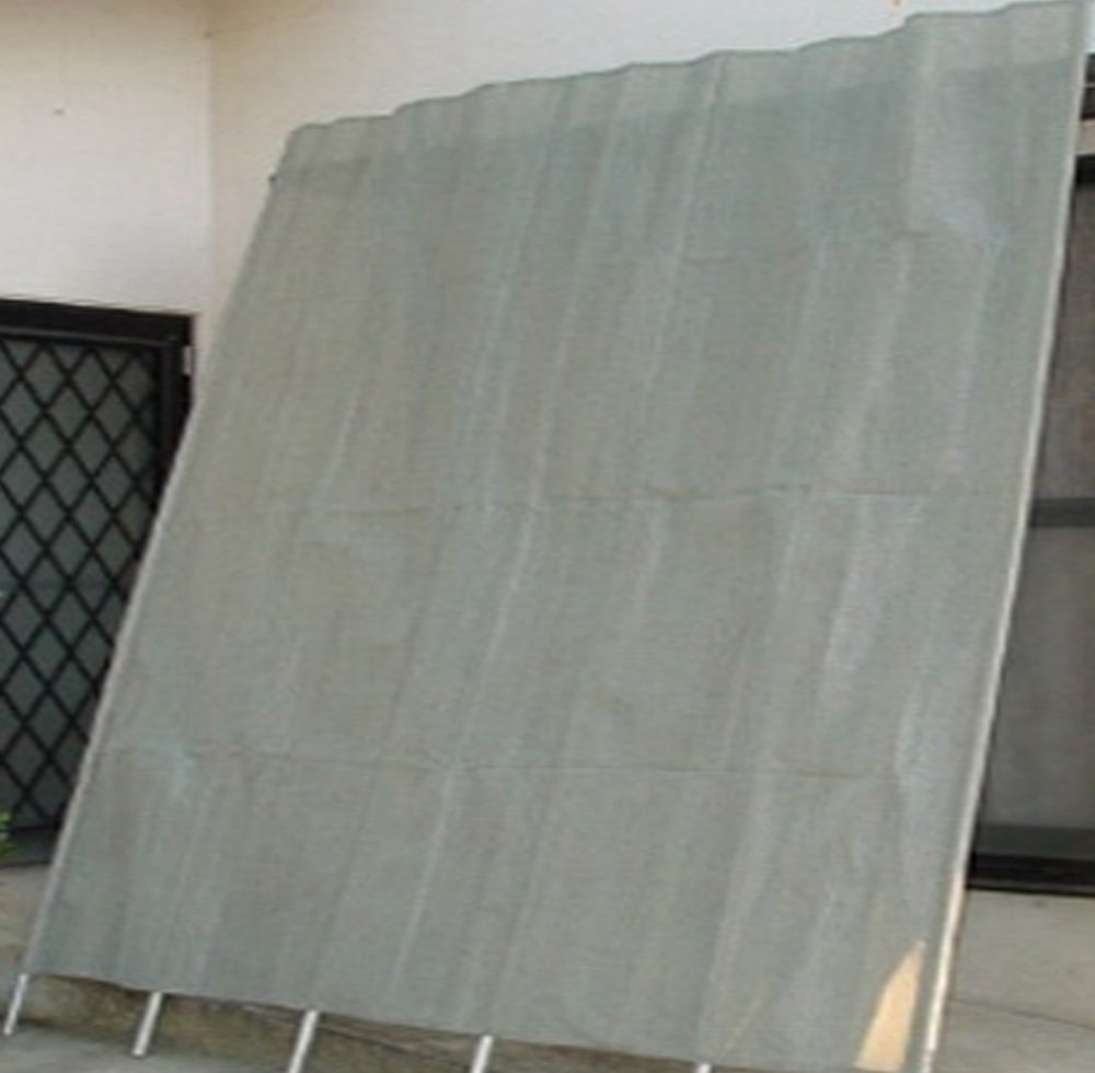 洋風たてす(サンシェード)10尺(幅300×高300cm) グレ- B01HCX37LG 11800