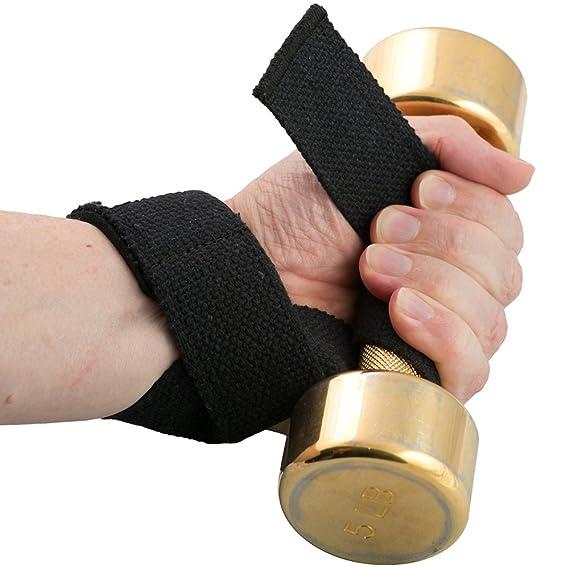 Ironpower correas de levantamiento de peso para entrenamiento con pesas, Bodybuilding, y levantamiento de potencia - incluye Bonus neopreno almohadillas de ...
