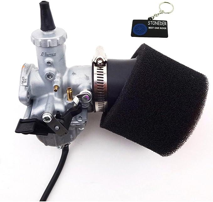 Stoneder Mikuni Vm26 Vergaser Luftfilter 30 Mm Für 150 Cc 160 Cc Pitster Pro Ssr Pit Dirt Bike Auto