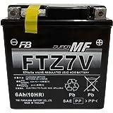 FURUKAWA (古河電池)12Vシールド型バイクバッテリー (液入充電済) FTZ7V