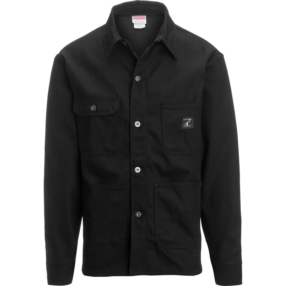 Pointer Brand Black Duck Chore Coat - Men's One Color, XL