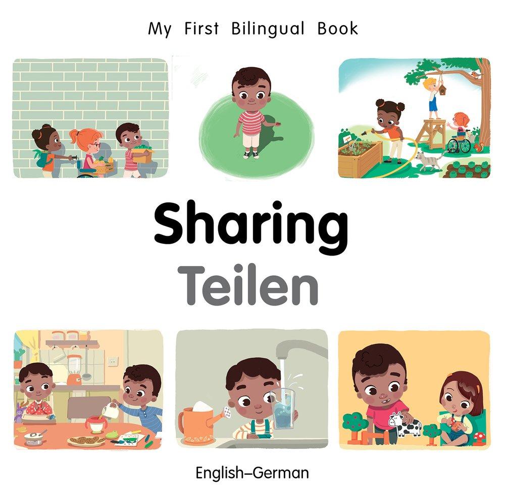 My First Bilingual Book–Sharing (English–German) (German and English Edition) pdf epub