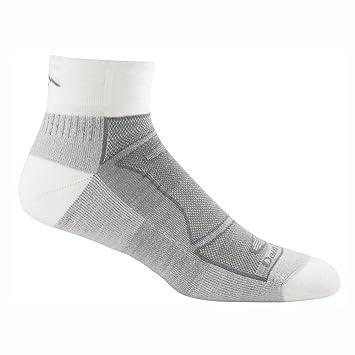 Darn Tough Vermont camiseta de 1/4 lana Merino calcetines luz cojín calcetines de Athletic