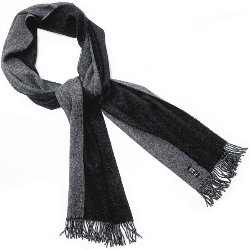 Elvang Denmark Schal unisex schwarz//grau
