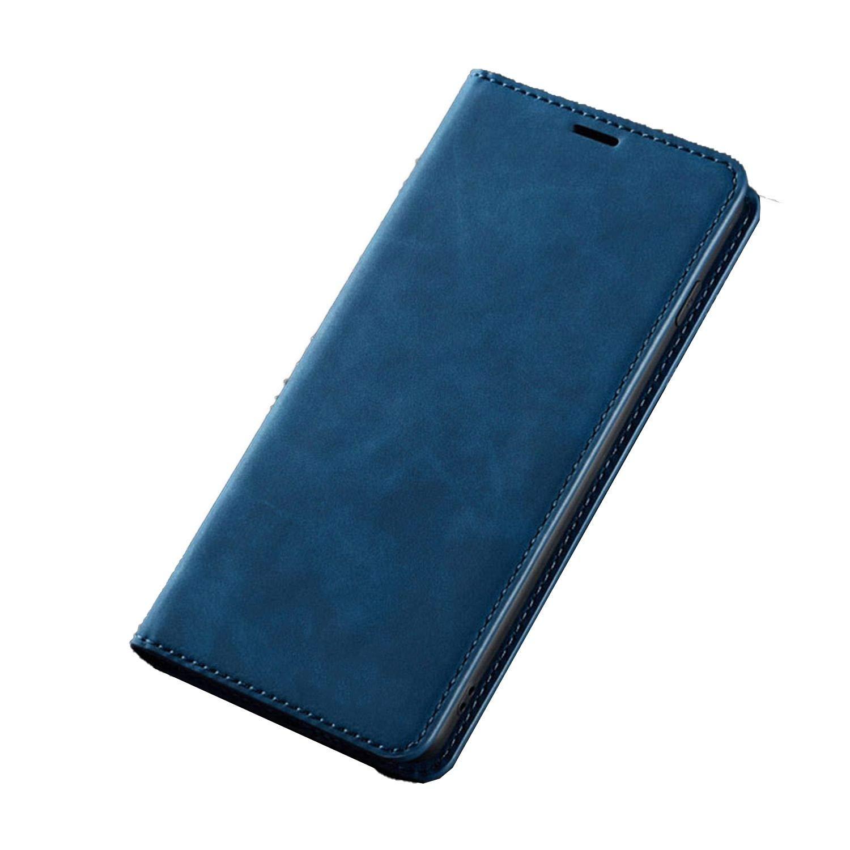 Amazon.com: Luxury Leather Flip Case for Samsung Galaxy S9 ...