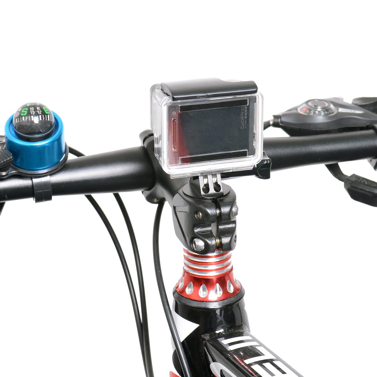 Fantaseal Action Camera Bike Mount Kit For Gopro Hero