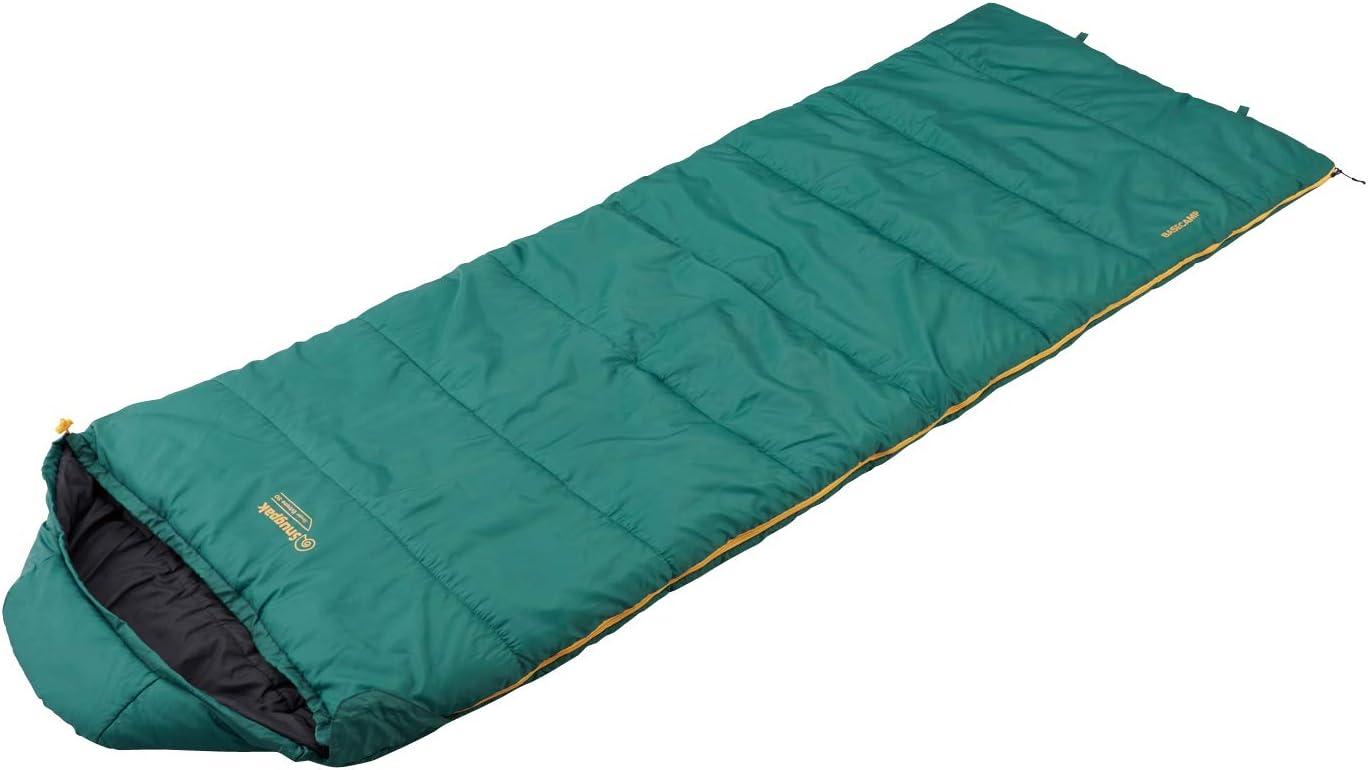 Snugpak(スナグパック) 寝袋 スリーパーエクストリーム スクエア ライトハンド ダークグリーン [快適使用温度-7度] (日本正規品)