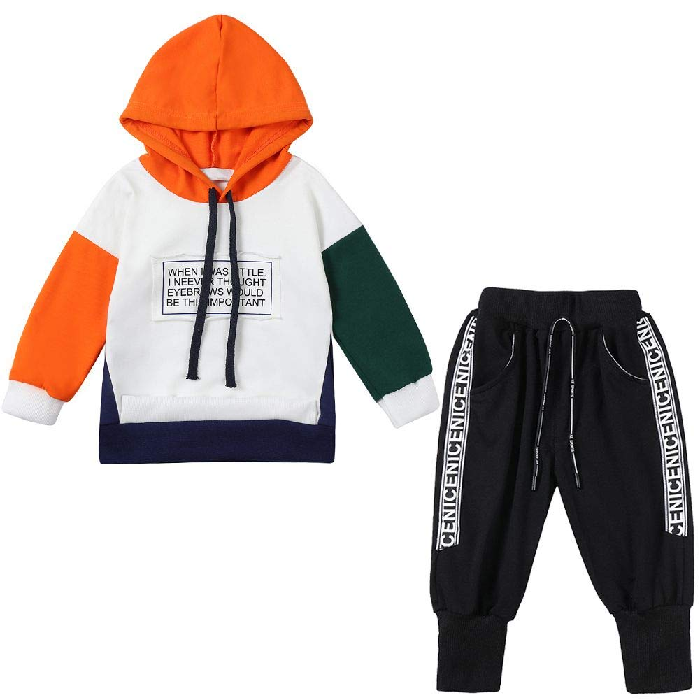 BOBORA Baby Boy Tracksuit Kids Short Sleeve Zipper Hoodie Tops with Short Pants Clothes Set 1-5Years