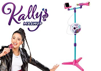 Smoby Kally S Mashup Microphone Sur Pied 520124 Multicolore