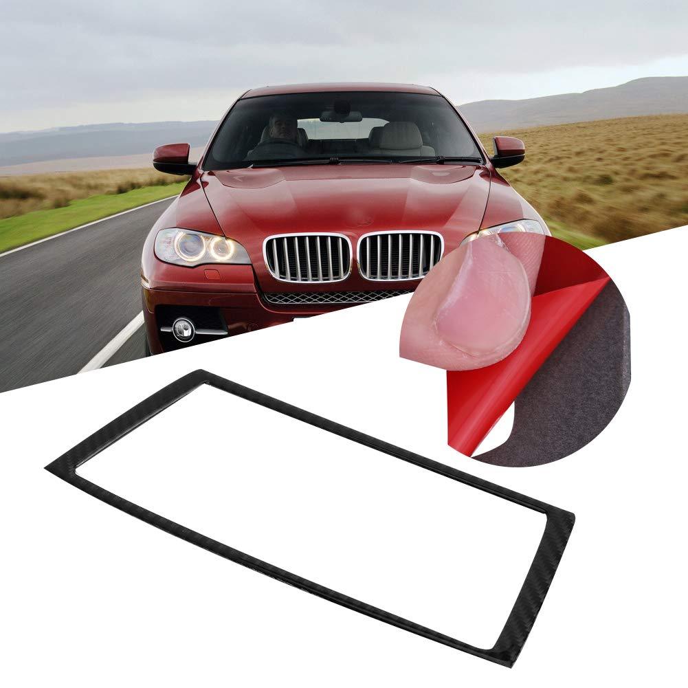 KIMISS Pannello di navigazione in fibra di carbonio Pannello del pannello di alloggiamento Cornice Trim Car Decorazioni Stile 2
