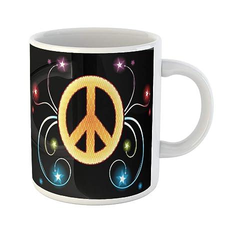 Amazon.com: Semtomn divertida taza de café de acuarela de ...