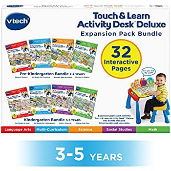 Amazon.com: VTech Touch and Learn Activity Desk (Frustration Free ...