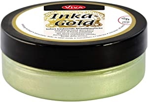 Viva Decor Inka Gold Paint, 62.5gm, Mint Green