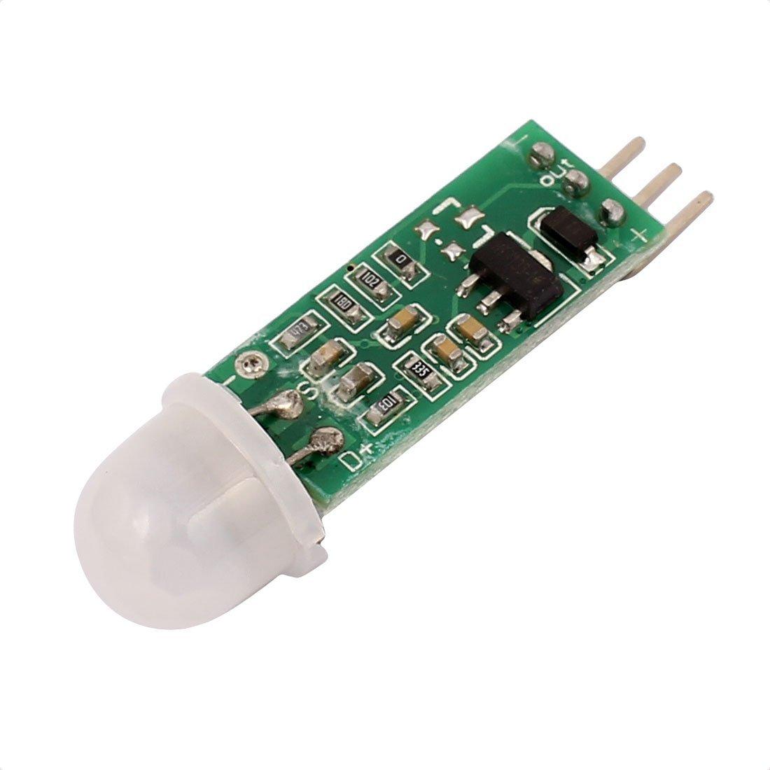 eDealMax HC-SR505 Mini Pyroelectric del modulo del sensore PIR del corpo umano di movimento ad infrarossi Scheda di rilevazione - - Amazon.com