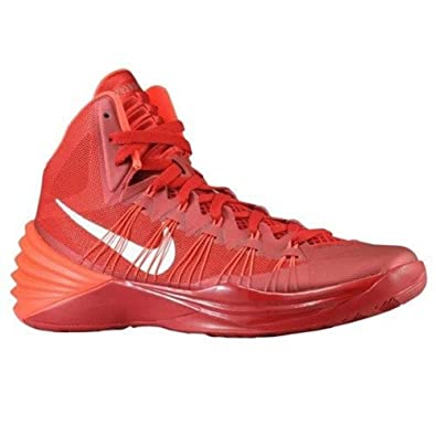 Nike Mens Shoes / Gym Red Bright Crimson Metallic Silver Shoes Nike Hyperdunk 2013 WH45T51h1h