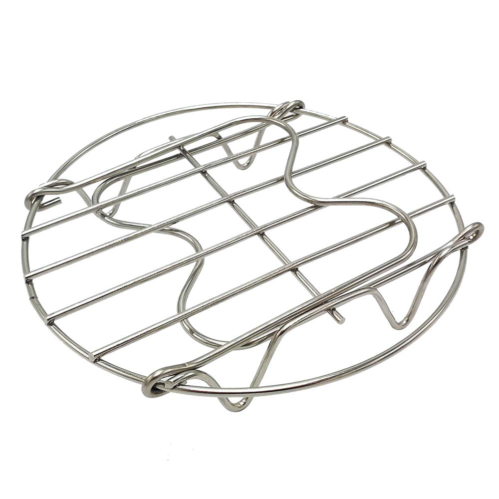 Amazon.com: Alamic Egg Steamer Rack Acero inoxidable bandeja ...